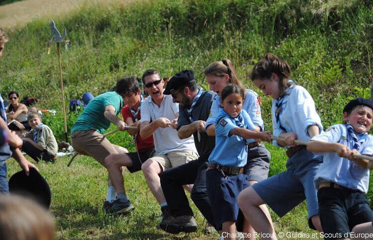 Fête de groupe des Guides & Scouts d'Europe de Chambéry