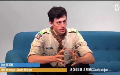 Les médias parlent du scoutisme