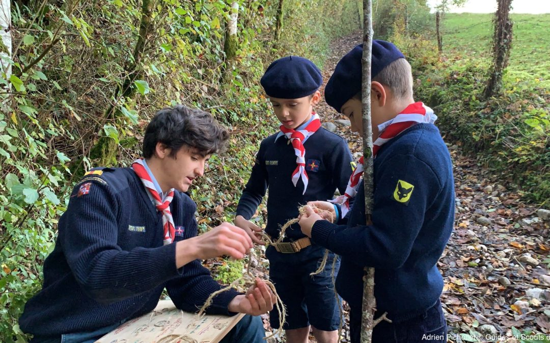 Les scouts d'Europe de Savoie face au confinement