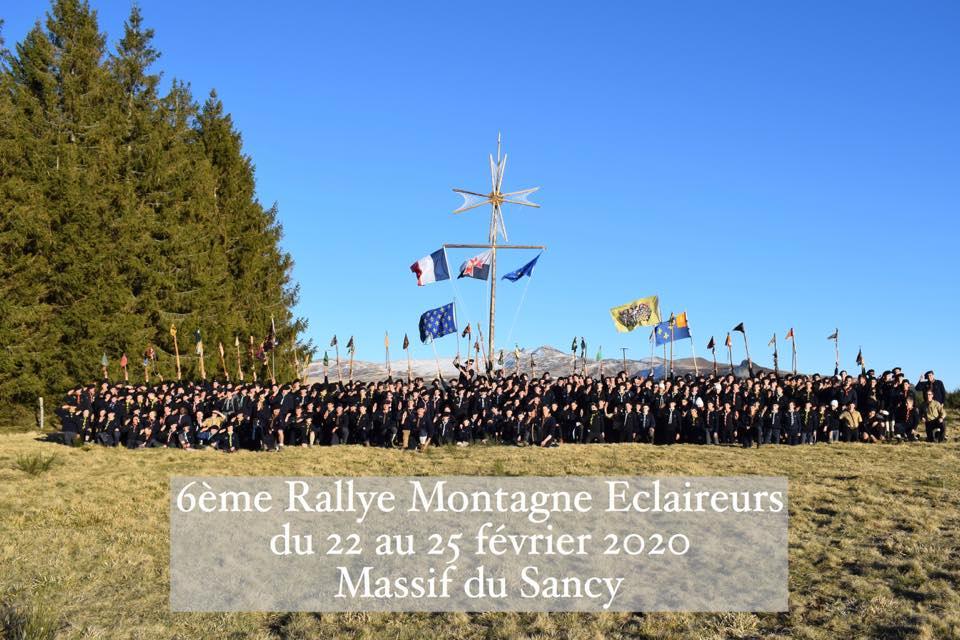 280 scouts alpins dans le Sancy !